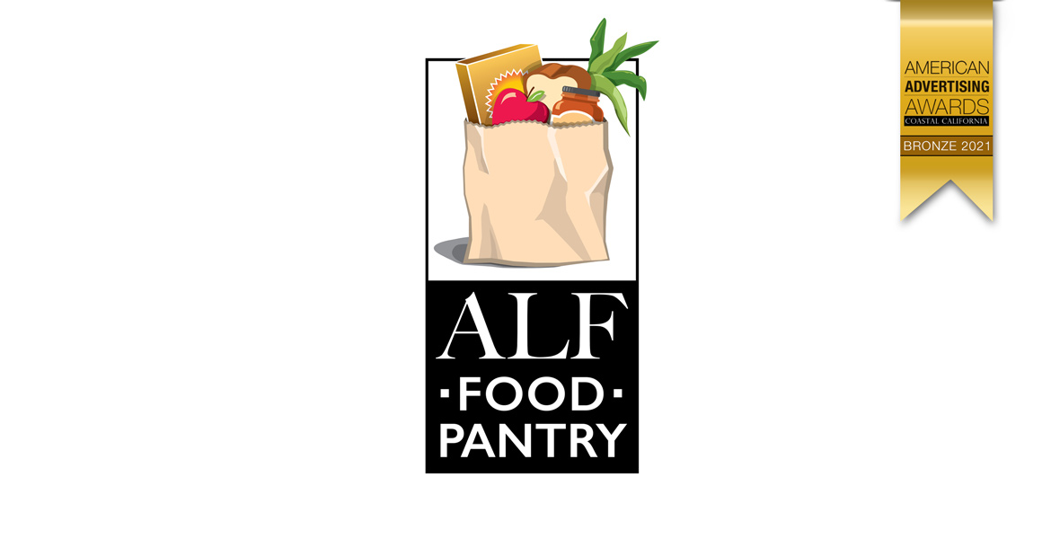 San Luis Obispo Graphic Design Firm - Atascadero Loaves and Fishes Food Pantry Logo - ALF Food Pantry Logo Designer - Business Logo Design - Studio 101 West Marketing and Graphic Design