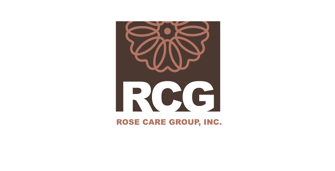 Rose Care Group Incorporated Logo Design - RCG Logo Design - Corporate Identity Designer - Studio 101 West Marketing and Design