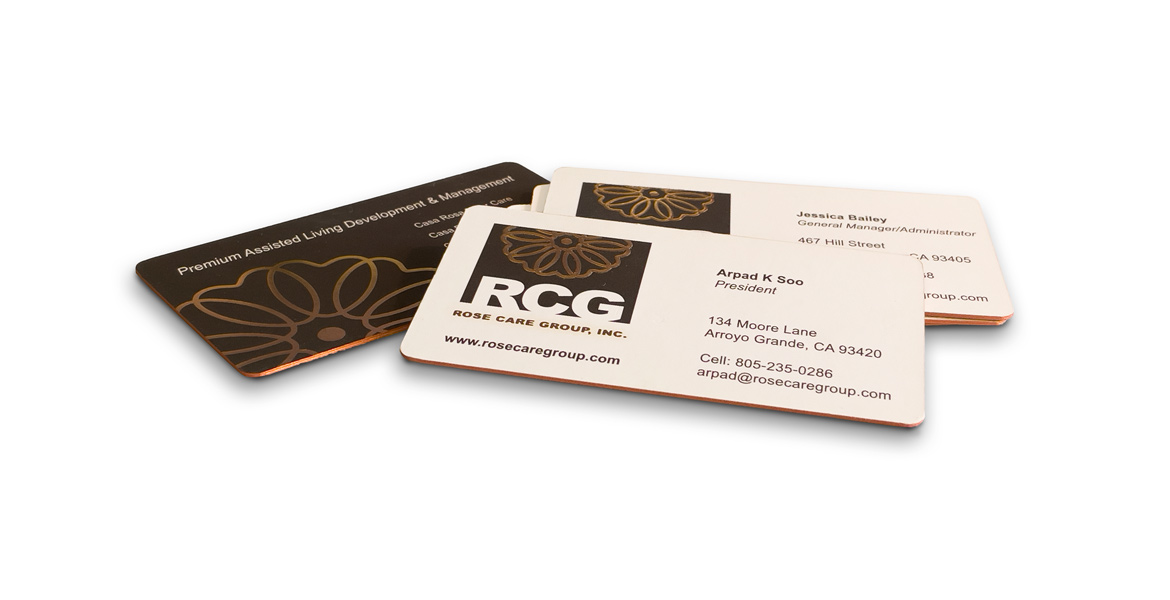 San Luis Obispo Graphic Design Firm - Business Card Design - Logo Design - Branding Identity - Company Cards - Studio 101 West Marketing and Graphic Design